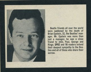 Brian Epstein Spec Fall 67