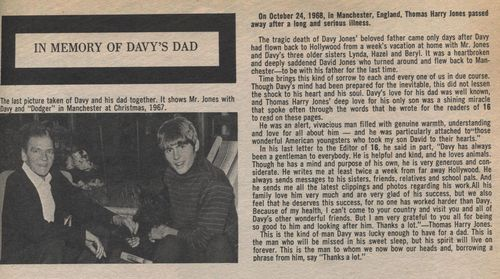 Davy's Dad Feb 69