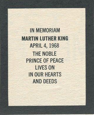 MLK July 68