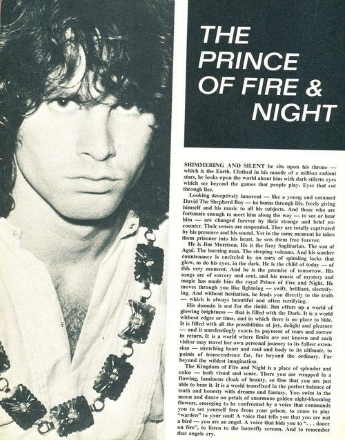 Prince of fire & night