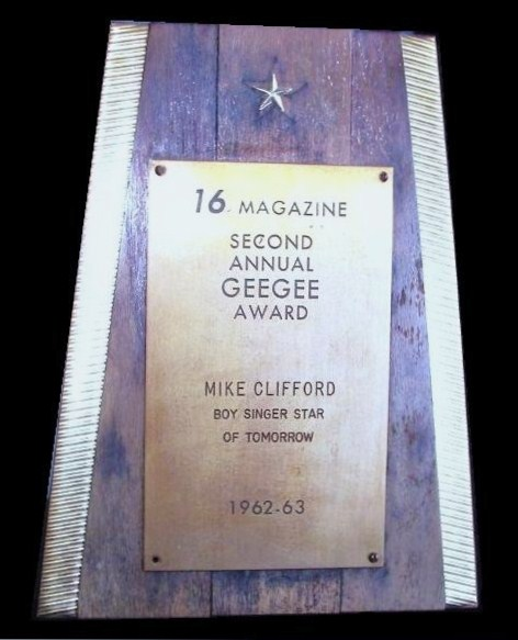 Mike Clifford GeeGeePlaque