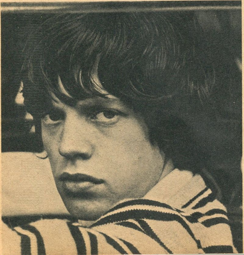 Mick Jagger Jan 65