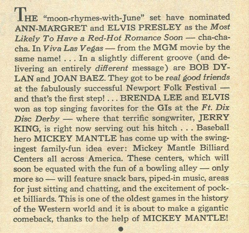 Mickey Mantle 2 - Nov '63