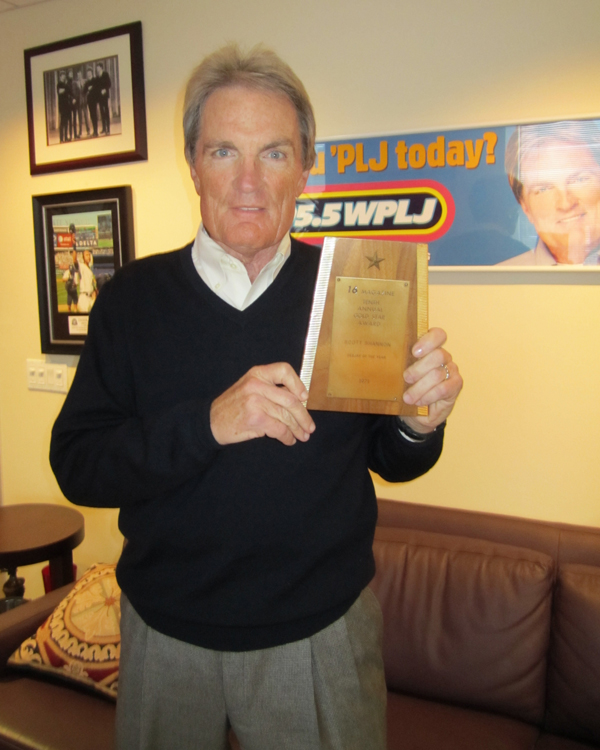 Scott Shannon with GG