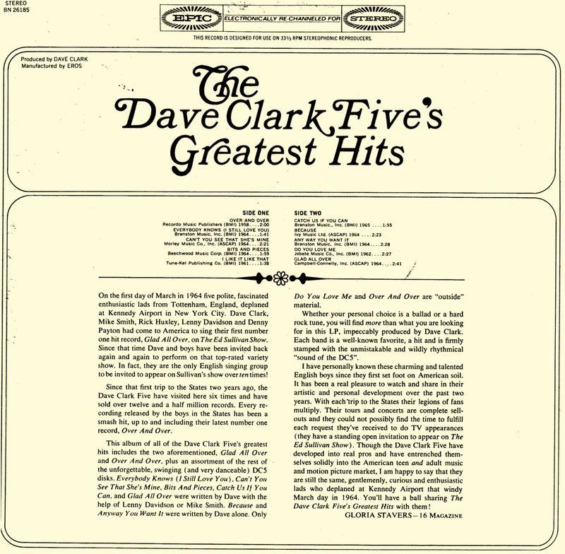 DC5 liner notes