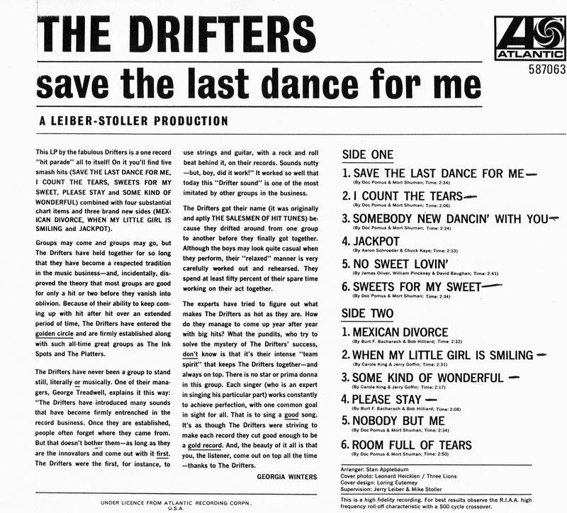 GW liner notes Drifter