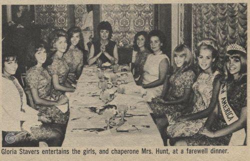 """""""Miss 16 1967"""" dinner"""