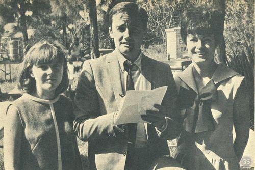 Robert Vaughn and Fan